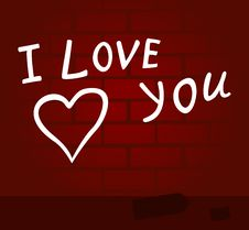 Free I Love You Stock Image - 17628121