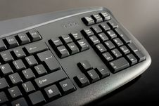 Free Close-up Of Black Keyboard Stock Photography - 17628272