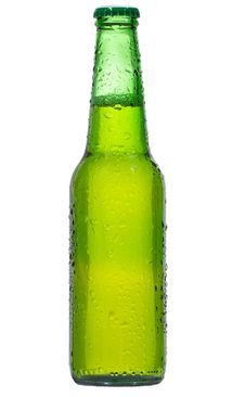 Free Bottle With Beer Stock Photography - 17628342