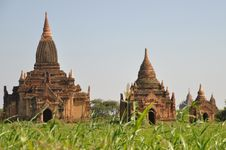 Free Myanmar: Bagan Temples Stock Photography - 17628372