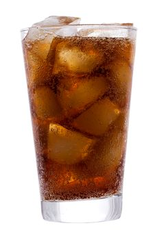Free Cola With Ice Royalty Free Stock Photography - 17628497