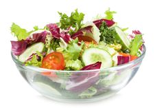 Free Salad With Vegetables Stock Image - 17628571