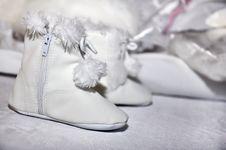 Free Fluffy Children S Footwear Stock Photo - 17629850