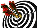 Free Arrows On The Target Stock Photos - 17631123