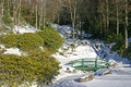 Free Newland Falls Frozen Royalty Free Stock Image - 17631806