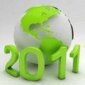 Free Green New Year Stock Photo - 17634170