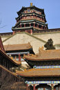 Free Summer Palace- Tower Of Buddhist Incense(foxiangge Royalty Free Stock Images - 17635079