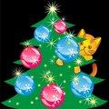 Free Vector Orange Kitten Climbed The Christmas Tree Royalty Free Stock Photography - 17638027
