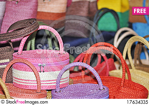 Handmade Bag Stock Photo
