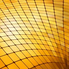 Free Golden Business Mosaic. EPS 8 Stock Photography - 17631392