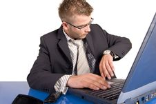 Free Businessman At Work Stock Images - 17631774