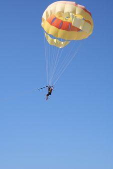 Free Parasailer And Blue Sky Stock Photos - 17632063