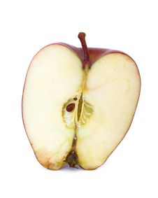Free Half Apple Royalty Free Stock Photos - 17632098