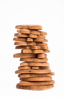 Free Stack Of Homemade Gingerbread Royalty Free Stock Photo - 17632585