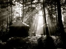 Free Yurt Rays Stock Images - 17633184