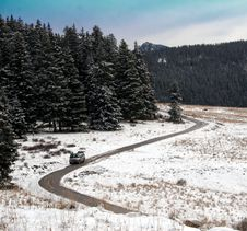 Free The Long And Winding Road Royalty Free Stock Images - 17633639