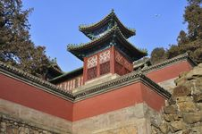 Free Beijing Summer Palace ,plane,China Royalty Free Stock Images - 17634819