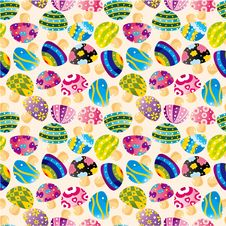 Free Seamless Mushroom Pattern Royalty Free Stock Photo - 17634865