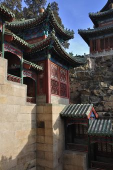 Free Beijing Summer Palace Chineses Pavilion,China Stock Photography - 17634882