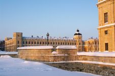 Free Gatchina Palace In Winter Royalty Free Stock Images - 17634969