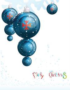 Free Blue Christmas Toys Stock Photos - 17635683