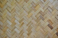 Free Wall From The Bamboo Stock Images - 17635934