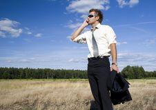 Free Businessman At Work Royalty Free Stock Image - 17637026