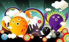 Free Cartoon Illustration Stock Photo - 17637640