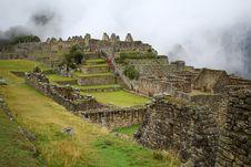 Free Machu Picchu, The Inca Ruin Of Peru Stock Photography - 17638822