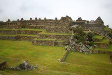Free Machu Picchu, The Inca Ruin Of Peru Royalty Free Stock Image - 17638846