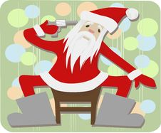 Free Santa After New Year Royalty Free Stock Images - 17639029