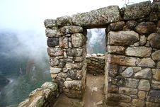 Free Machu Picchu, The Inca Ruin Of Peru Stock Image - 17639031