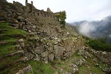 Free Machu Picchu, The Inca Ruin Of Peru Royalty Free Stock Photos - 17639078