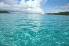 Free Turquoise Blue Waters Stock Image - 17639381