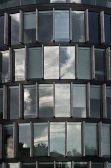 Facade Of A Modern Building Stock Photos