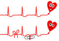 Free Cardiogram Royalty Free Stock Photography - 17641757