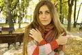 Free Autumn Portrait Royalty Free Stock Photos - 17642208