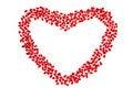 Free Pomegranate In Heart Shape Stock Photos - 17645483