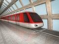 Free Monorail Train Stock Photos - 17646563