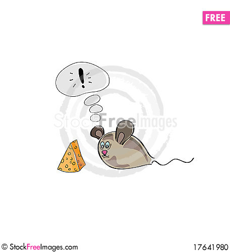 Illustration of mouse Stock Photo
