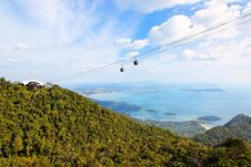 Free Langkawi Hills Cable Car, Malaysia Royalty Free Stock Photography - 17640897