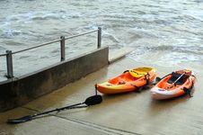 Free Canoe On Slipway Royalty Free Stock Photography - 17641057