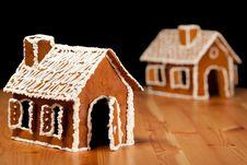 Free Christmas Gingernut House Stock Photos - 17641073