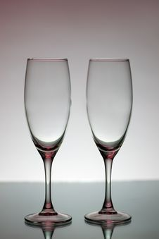 Free Glasses For Champagne Royalty Free Stock Photo - 17641235