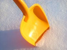 Free Children S Shovel. Stock Images - 17641734