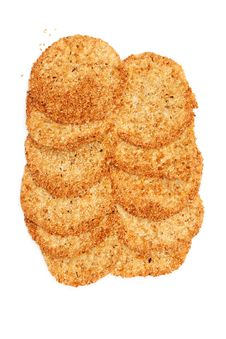 Free Biscuits With Sesame Seeds Stock Photography - 17642112