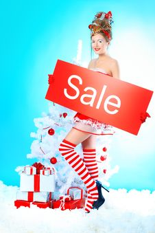 Free Posing Girl Stock Photo - 17642120