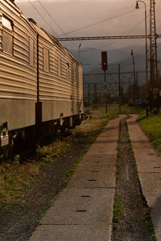 Travel By Train Stock Image