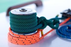 Free Winch Boat Royalty Free Stock Image - 17642146