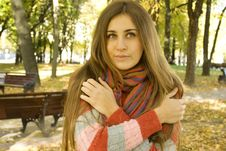 Free Autumn Portrait Royalty Free Stock Photos - 17642208